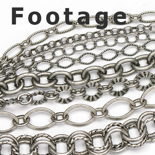 Antique Silver Chain footage