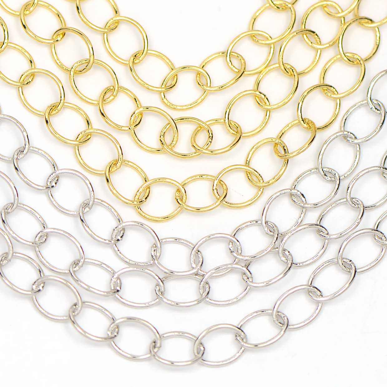 Chain 0008: Classic 5x6mm Oval Link Cable Chain