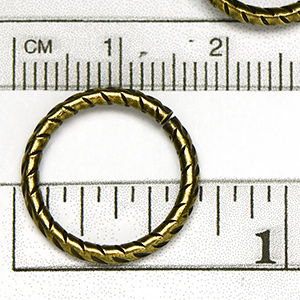 Antique Brass OX Plated 16MM Jumpring (10/pkg)
