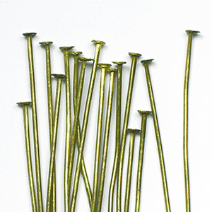 Antique Brass Head Pin 2 in. (25/pkg)