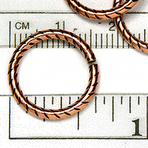 Antique Copper OX Plated 16MM Jumpring (10/pkg)