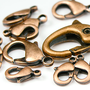 Antique Copper Clasps