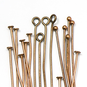 Antique Copper Headpins
