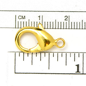 Luxury Gold-Plated Clasp: XLG 19mm Oval Trigger Clasp (5/pkg)