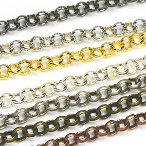 Chain 0076: 2.5mm Small Smooth Rollo