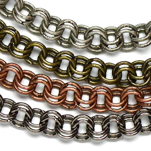 Chain 0090: 4mm Double Cable Chain