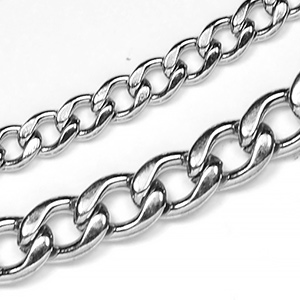 Chain 203: Stainless Steel Curb